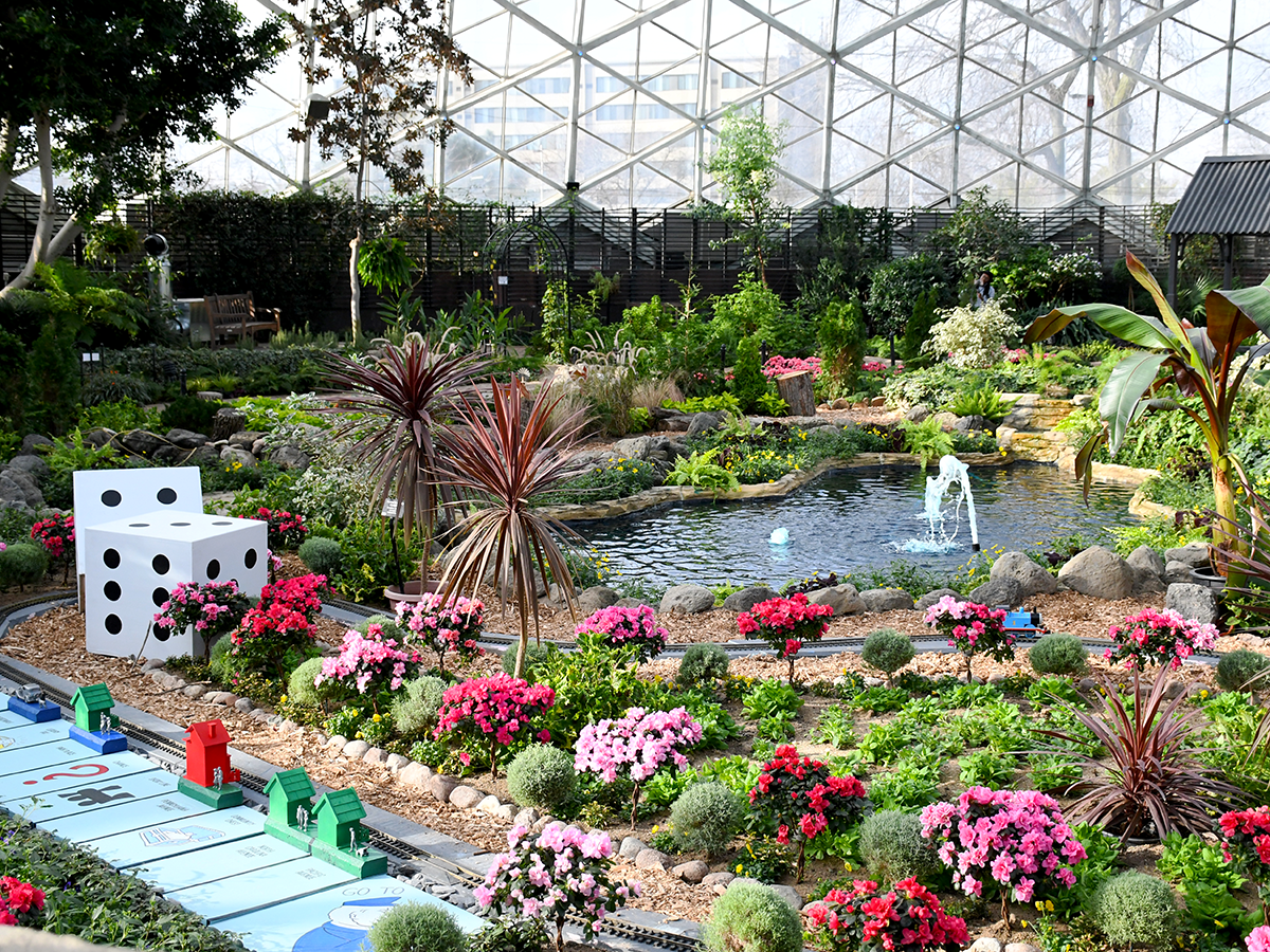Mitchell Park Domes Garden Train Show: All Aboard Games!