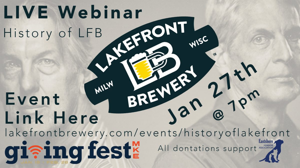 Live Webinar: History of Lakefront Brewery