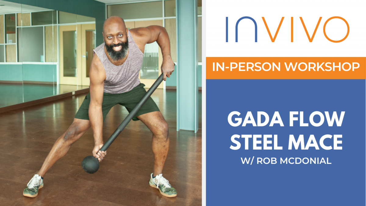 IN-PERSON Workshop: Gada Flow Steel Mace with Rob McDonial