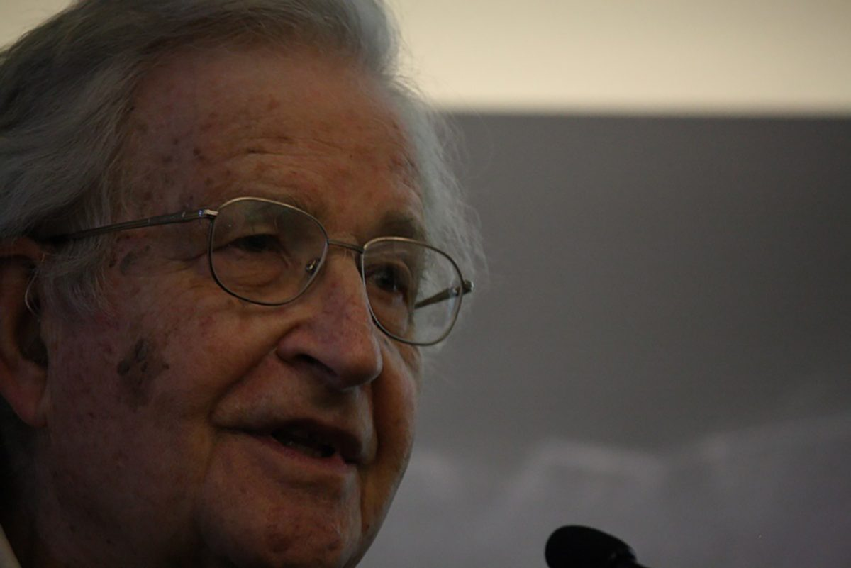 Webinar with Noam Chomsky