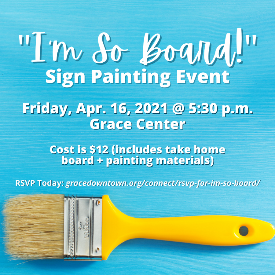 I'm So Board: Sign Painting Event