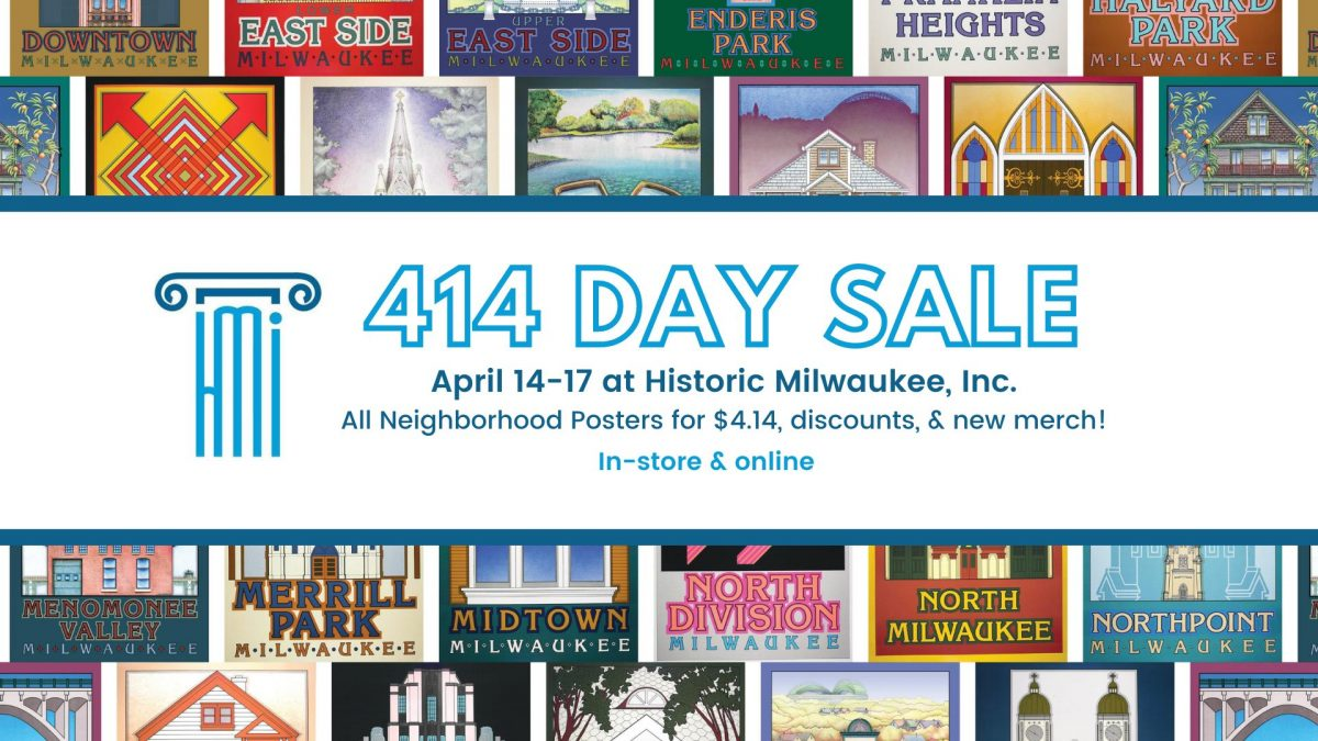 414 Day Poster Sale