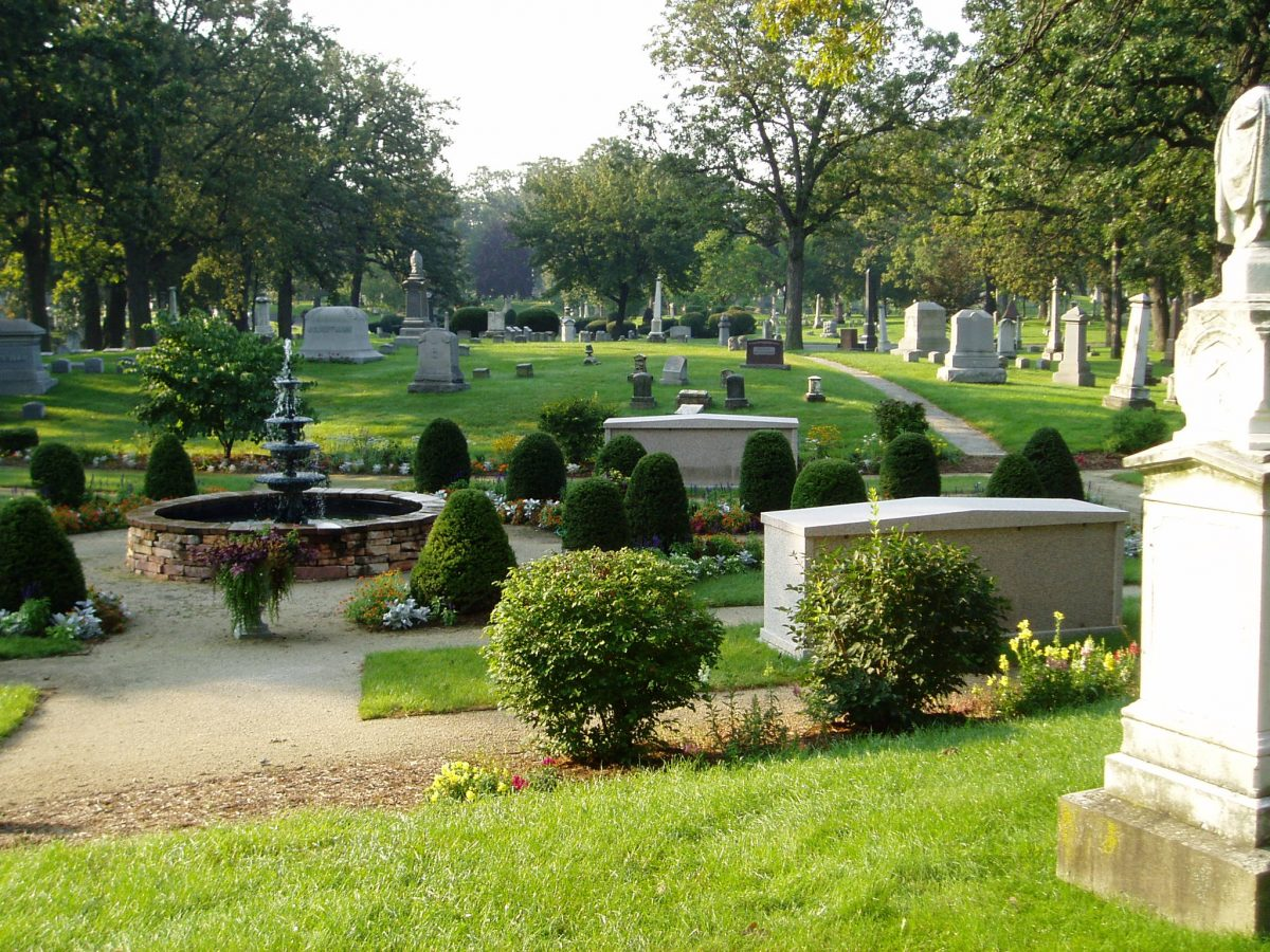 Yoga in the Cemetery