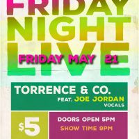 Friday Night Live: Torrence & Co. feat. Joe Jordan