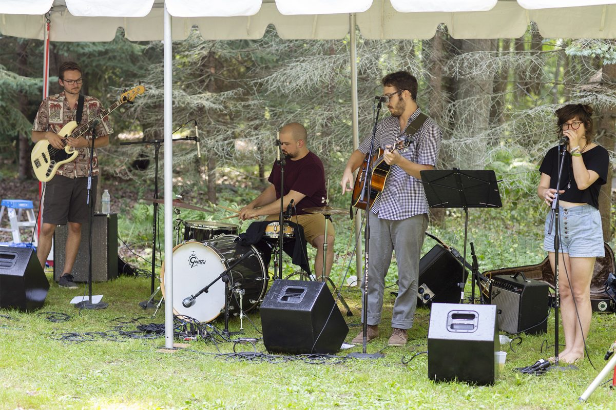 Return To The Real Music Series - Chair City Cookout at the James Tellen Woodland Sculpture Garden