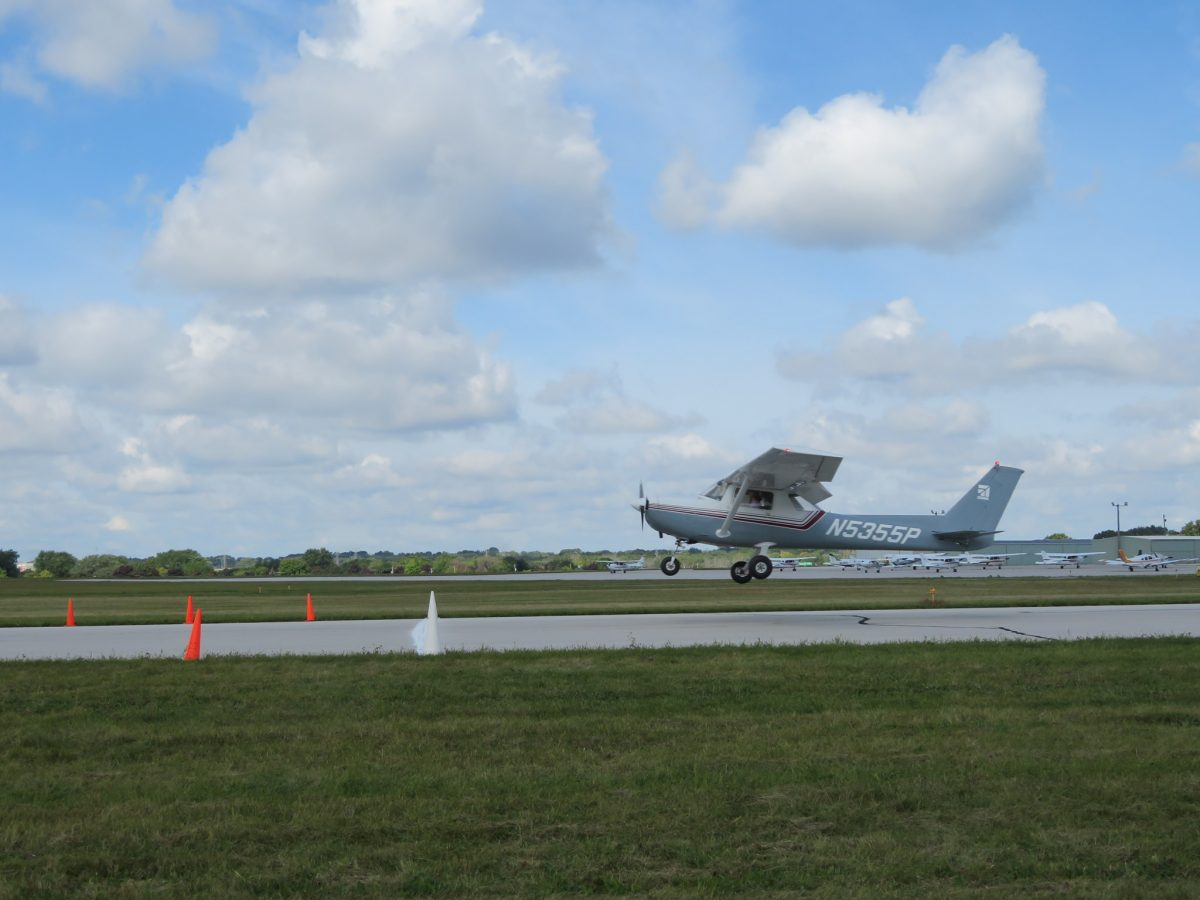 9th Annual Spot Landing Contest at Milwaukee County's Timmerman Airport
