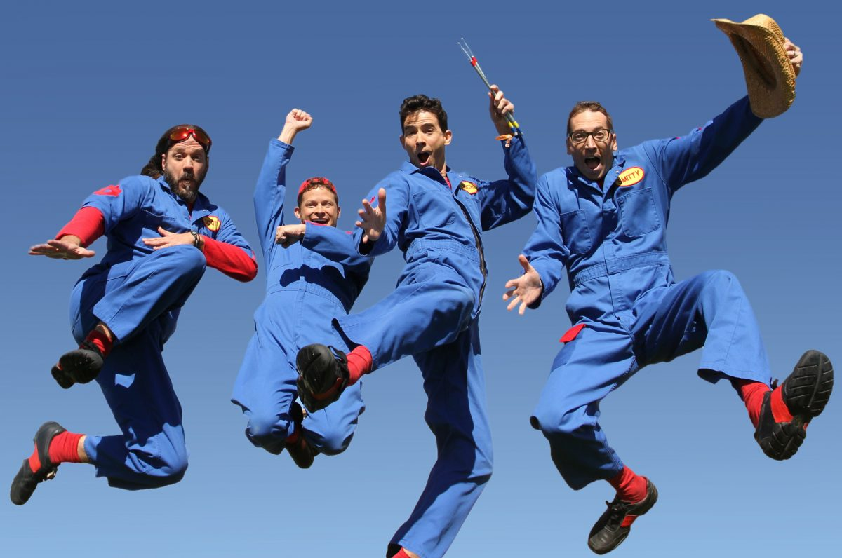 Animal Crackers Jr. Concert: Imagination Movers