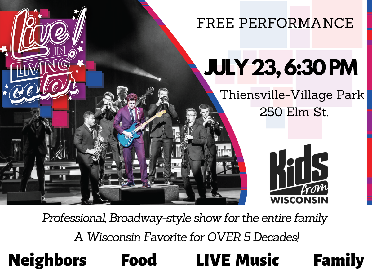 Kids From Wisconsin - LIVE! In Living Color