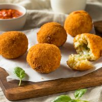 An Afternoon in Sicily: Arancini