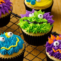 Kids Monster Cupcakes Cooking Class - Ages 8+