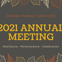 Jewish Family Services 2021 Annual Meeting