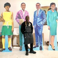 On Site: Derrick Adams: Our Time Together Opening