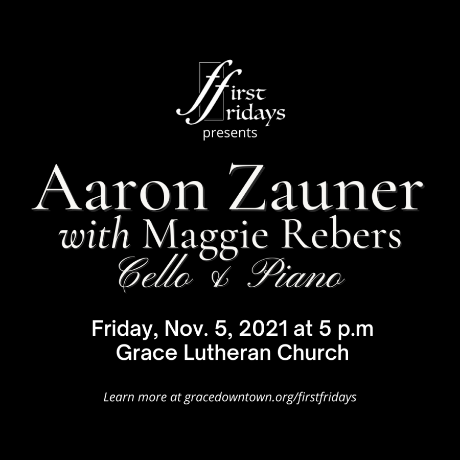 First Fridays Presents Aaron Zauner and Maggie Reb...