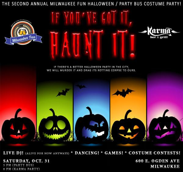 the milwaukee fun meetup halloween costume party at karma bar grill if youve got it haunt it milwaukee365com
