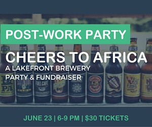 Cheers to Africa Brewery Tour Fundraiser