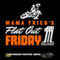 Mama Tried's FLAT-OUT FRIDAY Indoor Flat-Track Motorcycle Racing