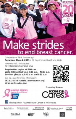 Making Strides Against Breast Cancer - Milwaukee