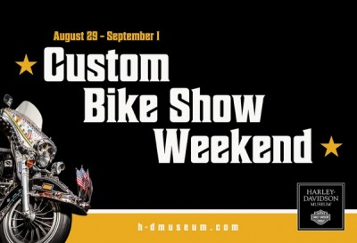 H-D Museum Custom Bike Show Weekend