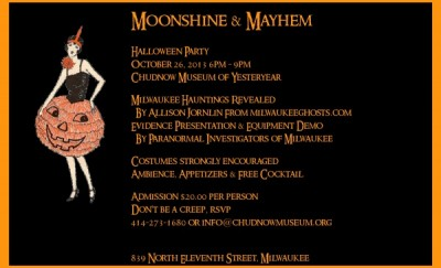 moonshine and mayhem halloween party