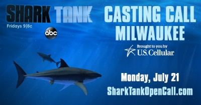 ABC'S Shark Tank Casting Call brought to you by U....